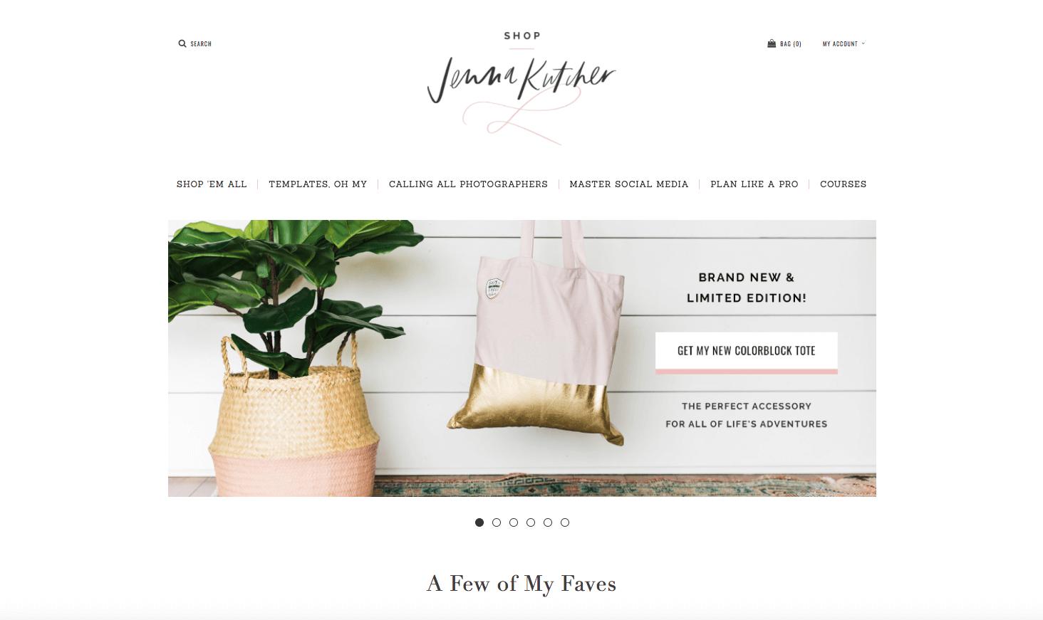 The digital shop de Jenna Kutcher.png