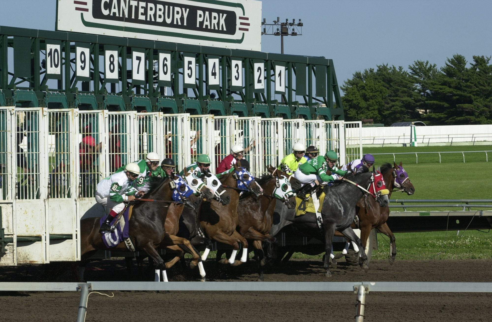 Canterbury Park racing