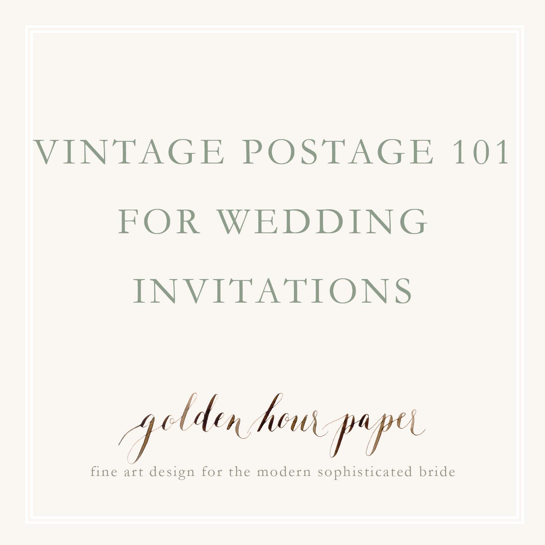 vintage postage 101