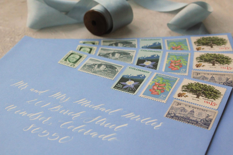 Vintage Custom Or Regular Postage For Wedding Invitations Demystifying Postage Options