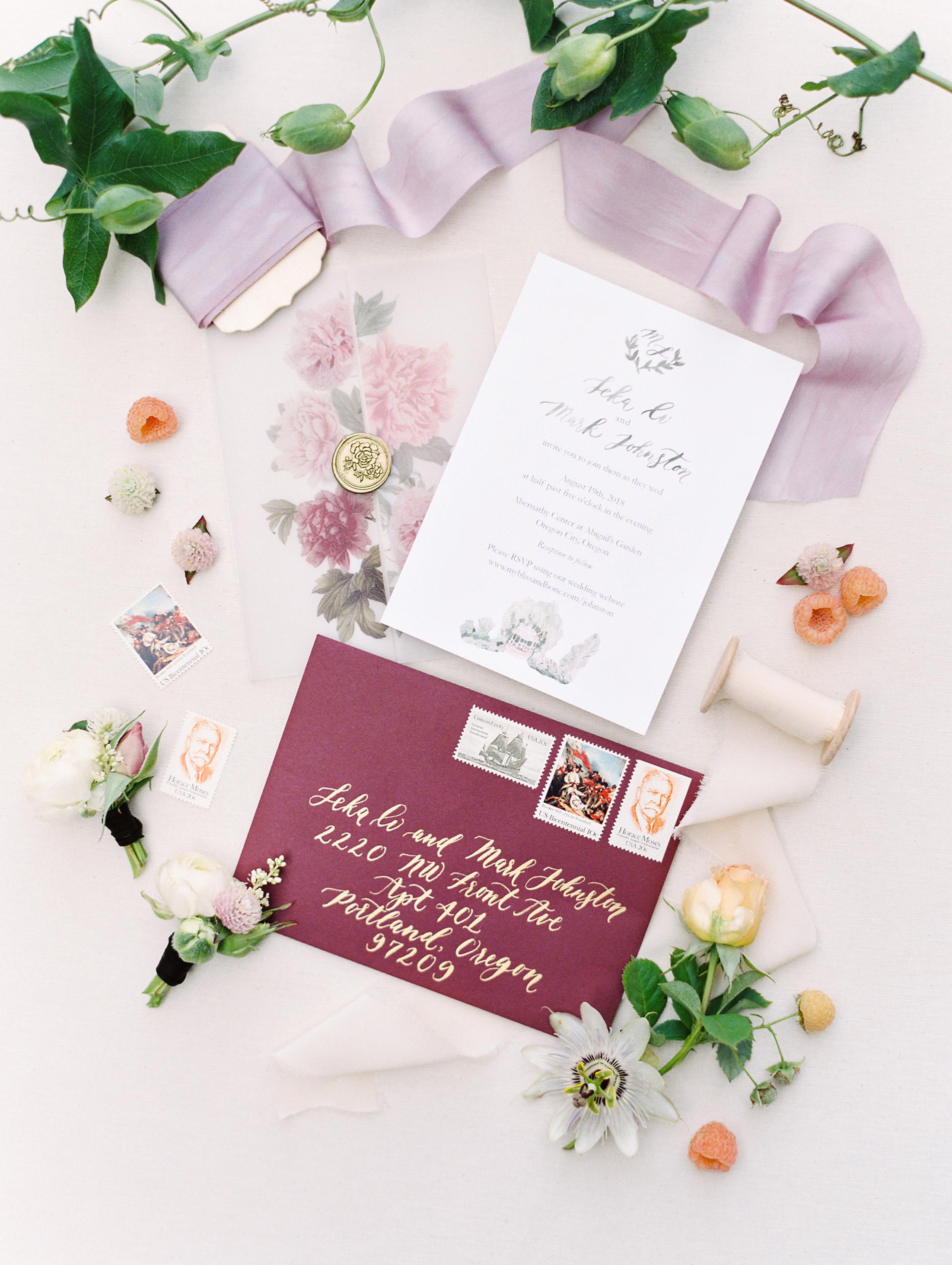 custom invitation design portland