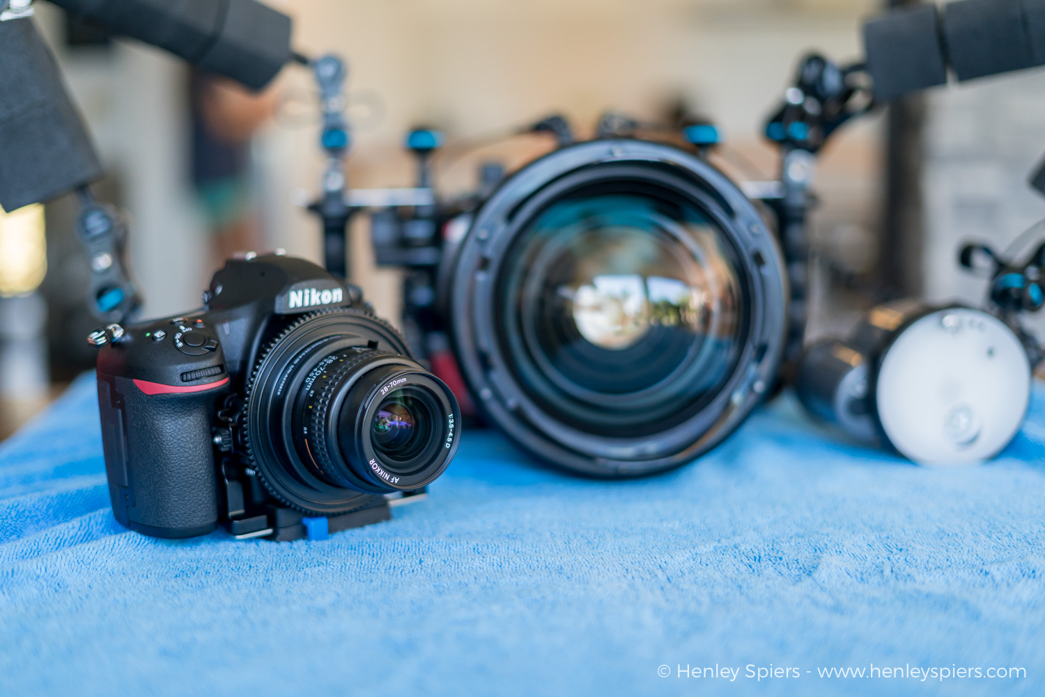 The WACP combined with the 28-70mm lens fills you with confidence that you can tackle almost any subject encountered