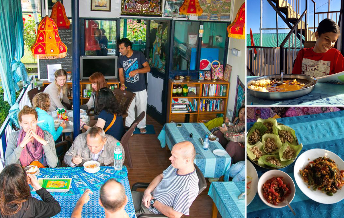 Ram's Café: Ayurvedic meals with new friends and old