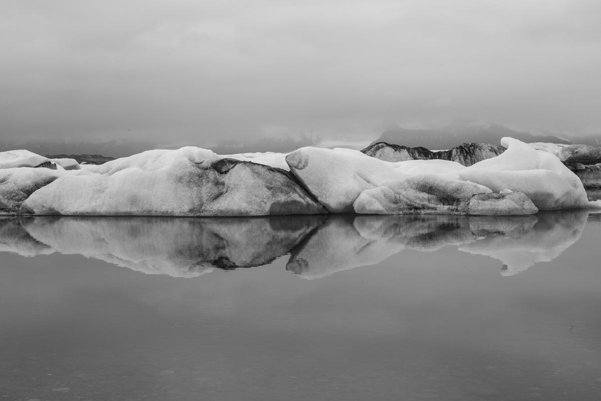 Sanne Kabalt   Ice does not sleep   Jökulsárlón, 2014