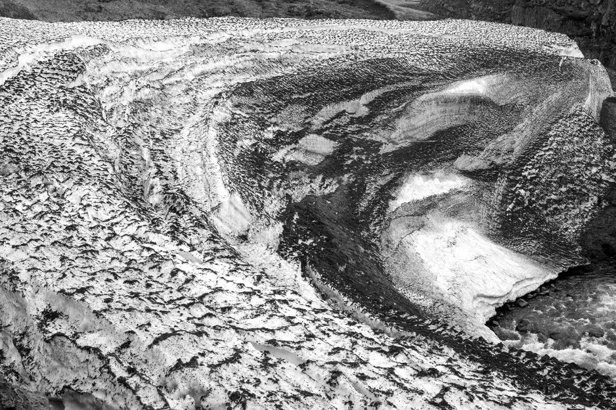 Sanne Kabalt   Glaciers have no faces   Skagaströnd, 2014