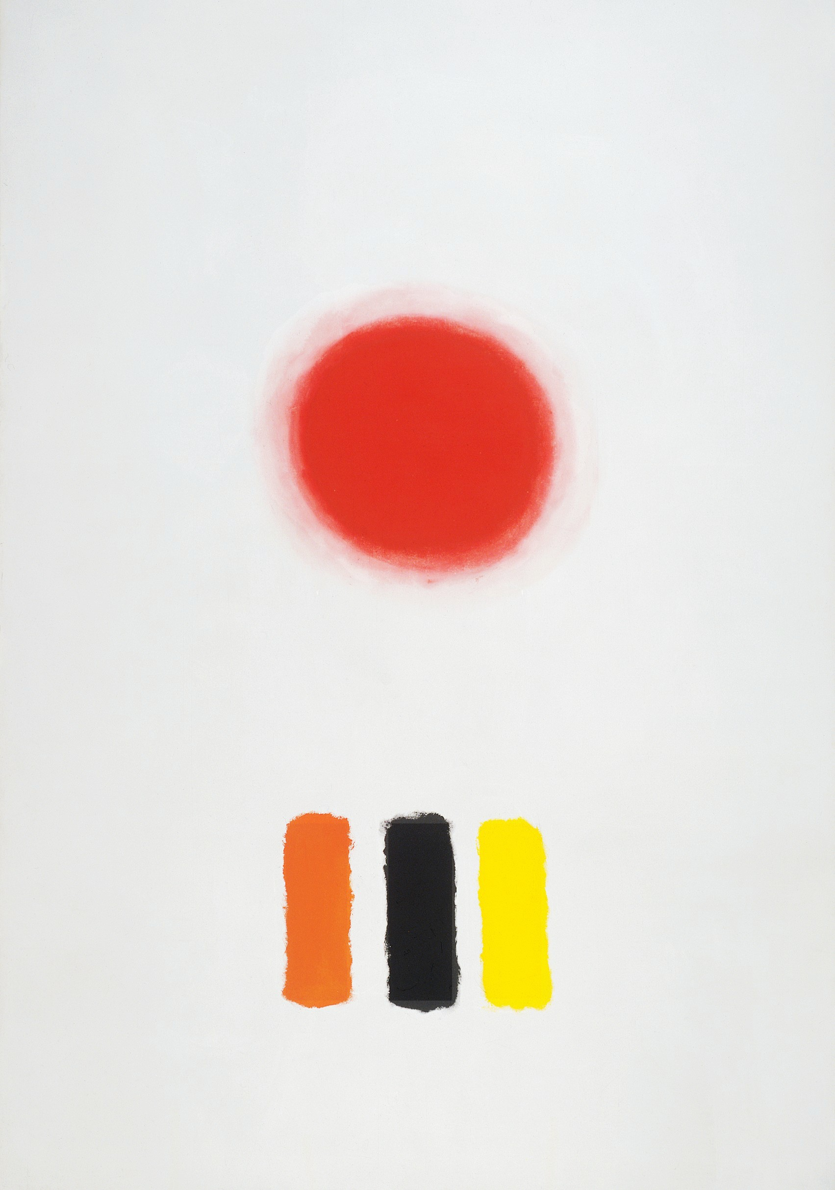 <br><i>Icon</i> <br> 1964<br>Oil on canvas<br>144 x 100""