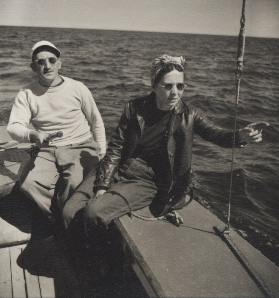 Adolph and Esther Gottlieb<br> Provincetown, MA <br>1948