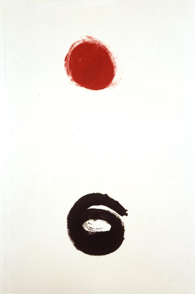<br><i>Untitled</i> <br> 1973<br>Monotype<br>39 x 27""
