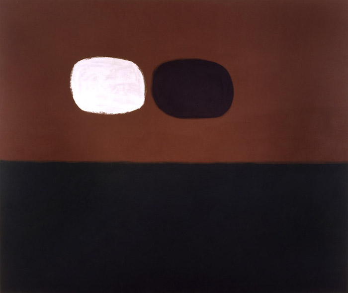 <br><i>Echo</i> <br> 1967<br>Oil on canvas<br>60 x 90""