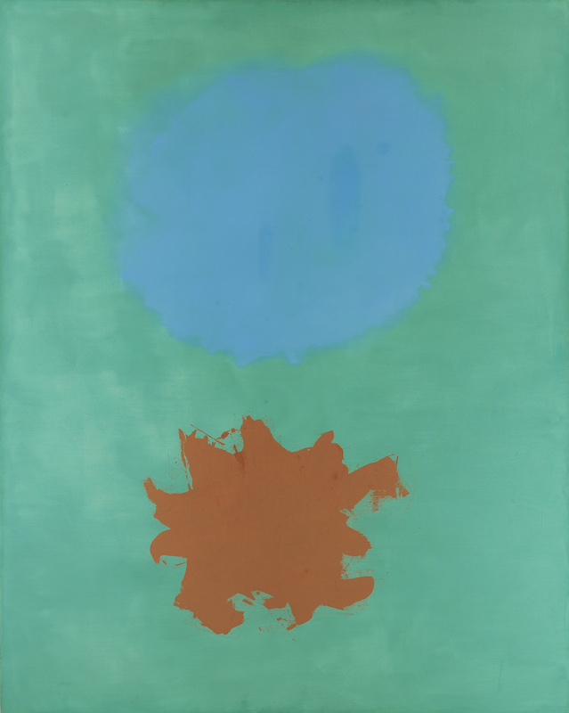 <br><i>Green Expanding</i><br>1962<br>Oil on canvas<br>90 x 72""