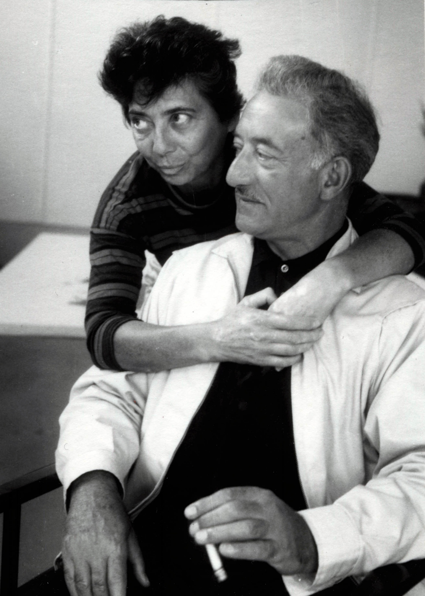 Esther and Adolph Gottlieb, c. 1963