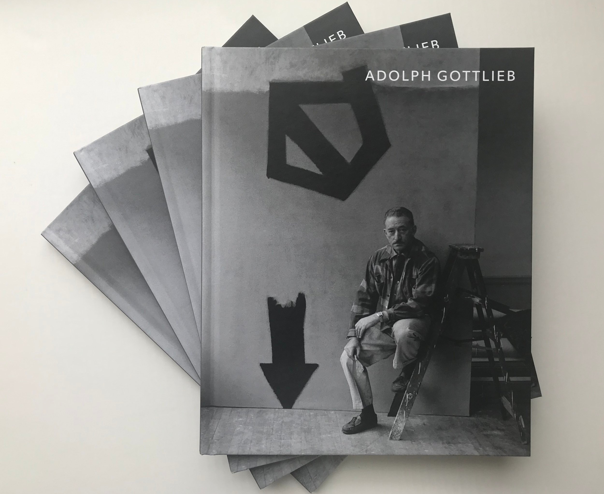 """Adolph Gottlieb: Classic Paintings"" Exhibition Catalogs, courtesy of the Pace Gallery  [click to enlarge]"