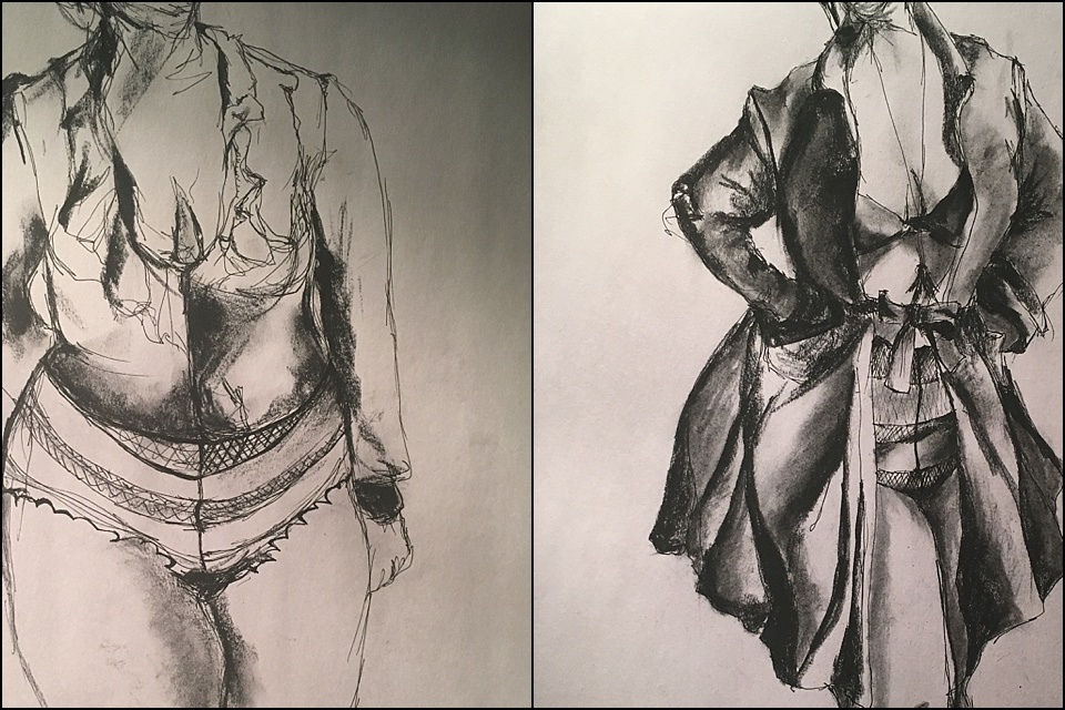Sketches by: Kaitlyn Miller