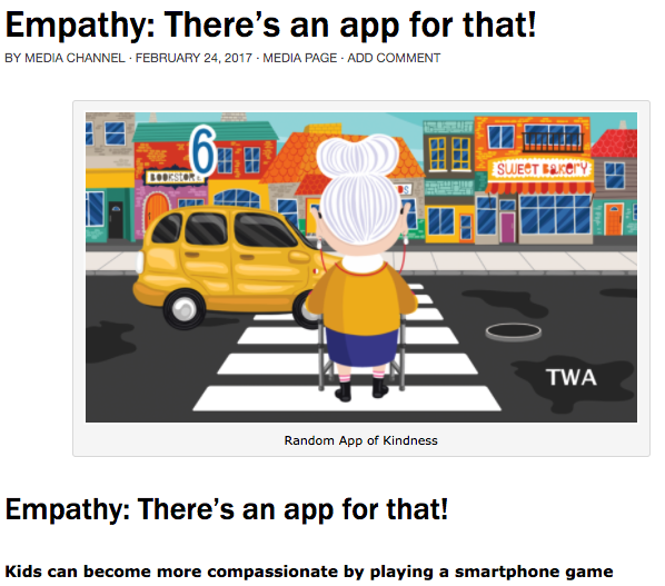 Here is the link:  http://www.teacherswithapps.com/empathy-theres-app/