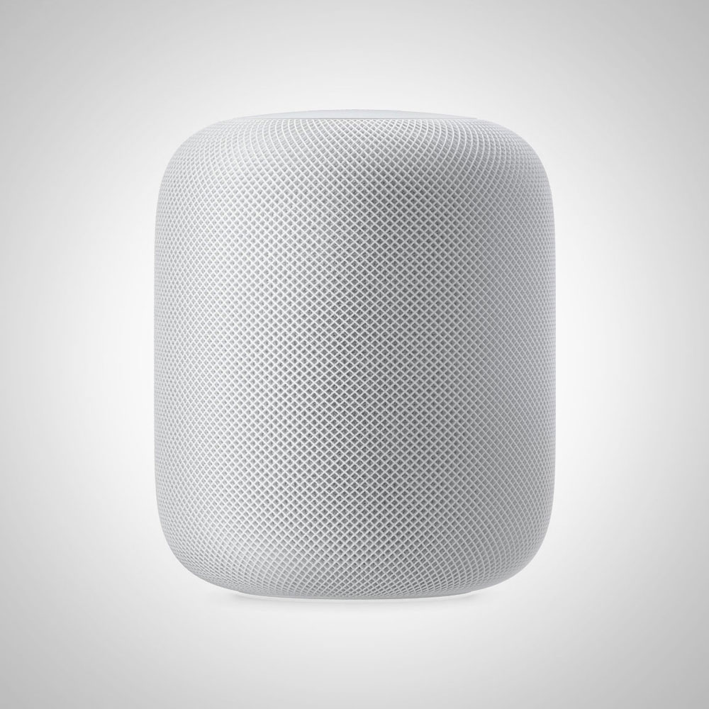 2017 Apple HomePod - to be released in December 2017 (photo courtesy of apple.com)