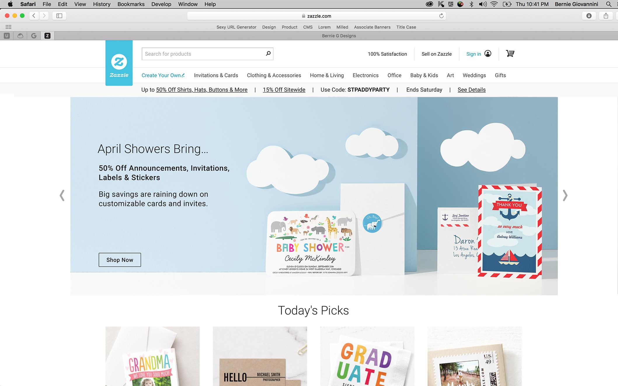 Homepage Mantle