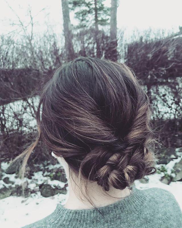 Starting this year with a romantic updo from new years eve, hope you had a great one! ✨ ✨ ✨ Startar nya året med en uppsättning från nyårsafton. Hoppas ni haft en fantastiskt helg❣️ . . . . . . #salongnoc#nettiepånoc#nettieatnoc#updo#newyear#nyttår#frisör#frisörstockholm#newyearseve#uppsättning#romanticupdo#styling#braidedupdo#braid#