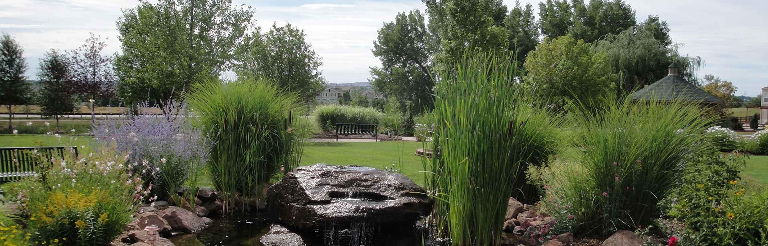 Enjoy the Colorado lifestyle at the Gardens at Columbine