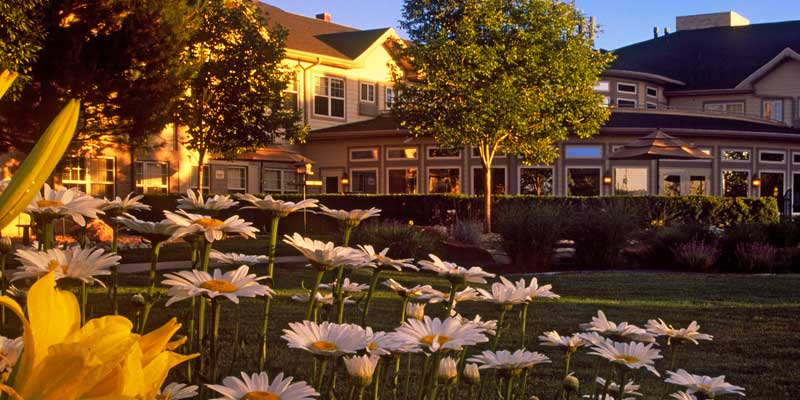 T  he Gardens at Columbine provides safe and serene outdoor spaces for your loved one to enjoy