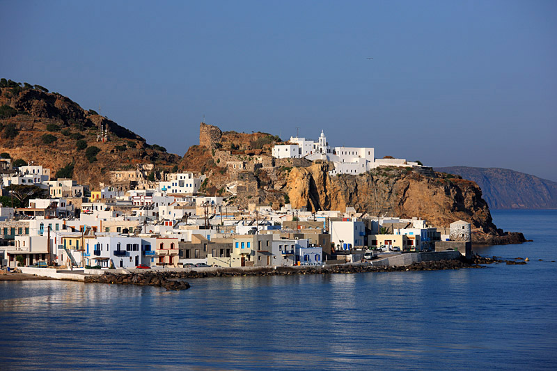 Mandraki, the main village of Nisyros.