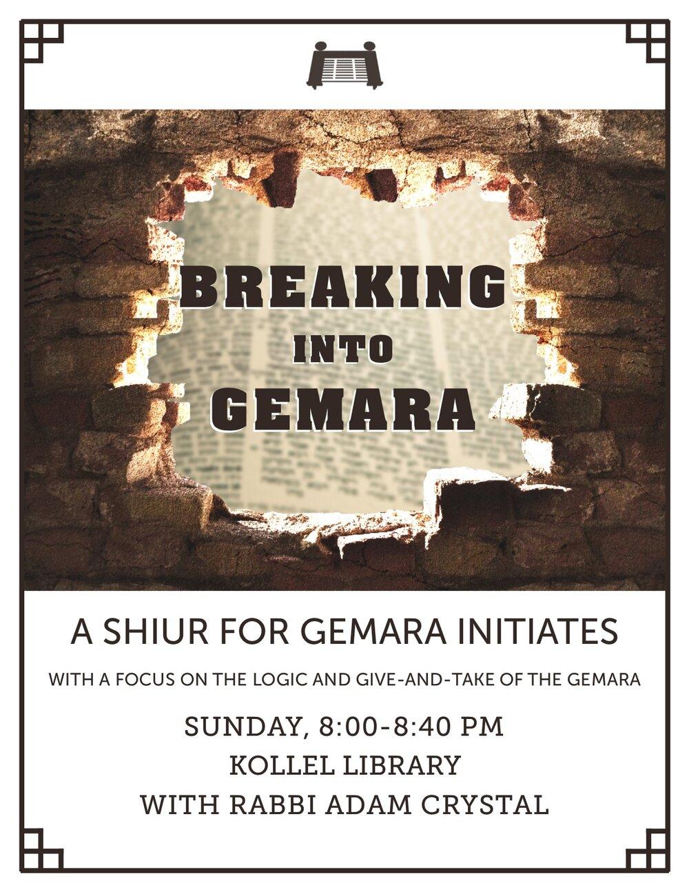 Breaking into Gemara.jpg