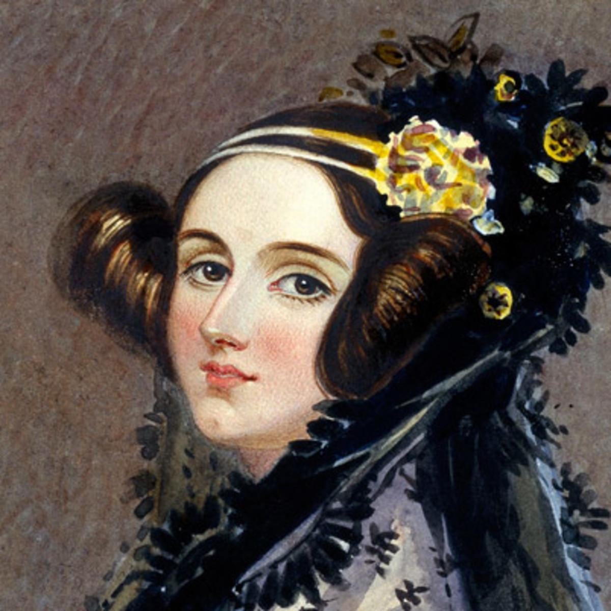 Ada Lovelace - Photo credit: Biography.com