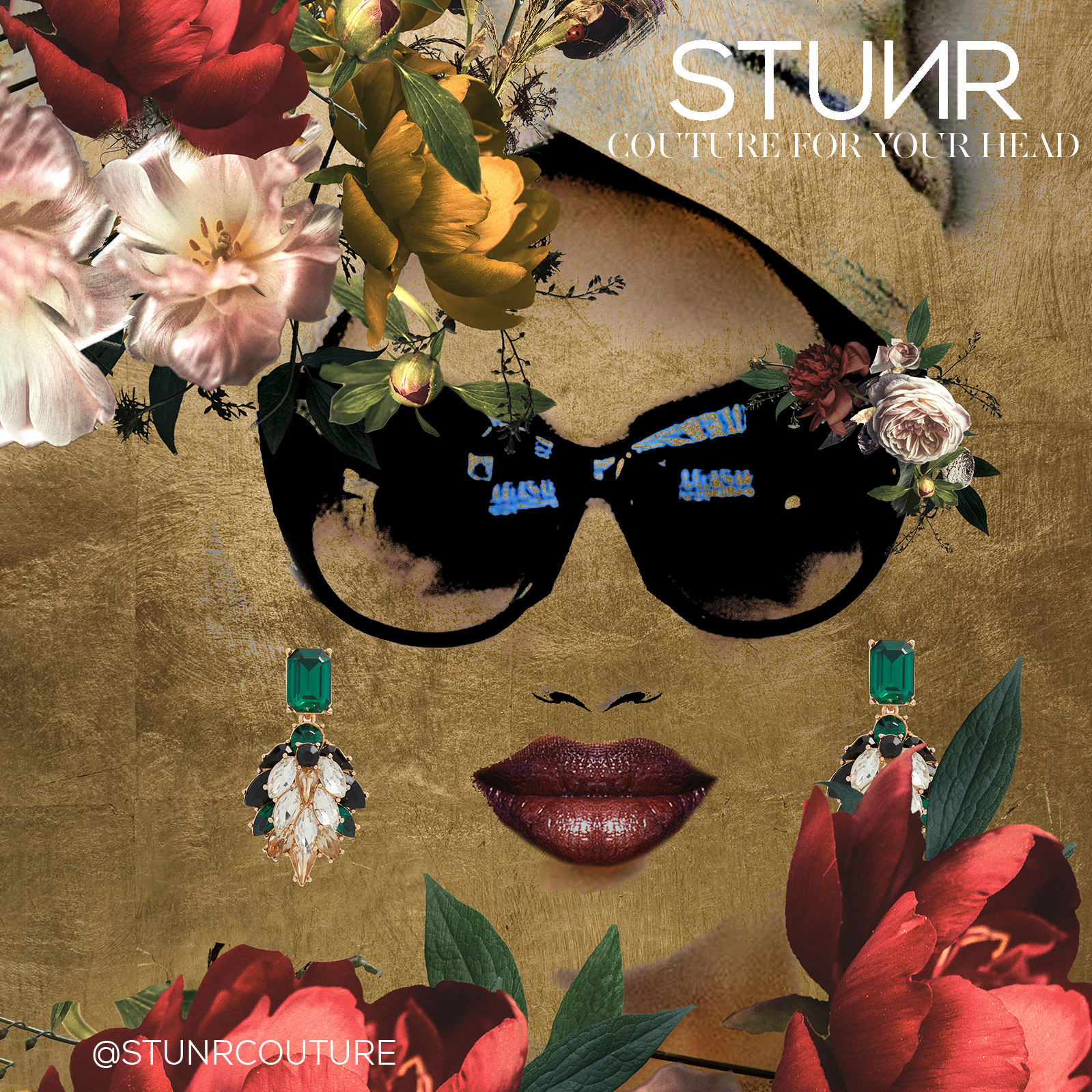 STUNR - stunrcouture.com/Looking for the perfect statement piece to complete your holiday look? Illuminate every room with one of our glamorous, ready-to-wear turbans.