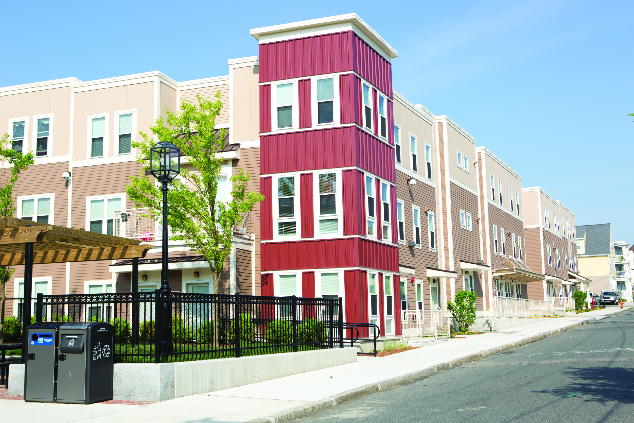 Highland Terrace, the first LEED for Homes Platinum property in Chelsea.