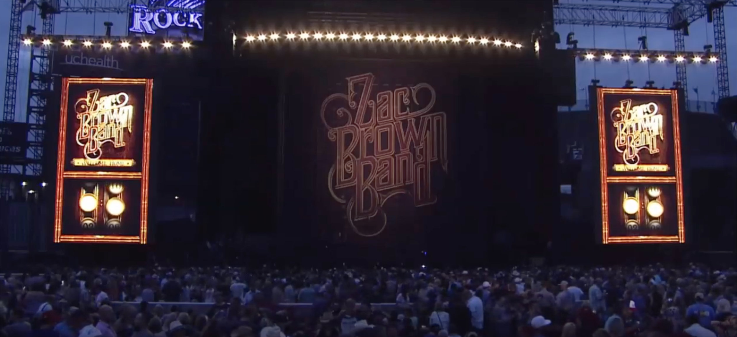 Zac Brown Band at Coors Field in Denver, CO