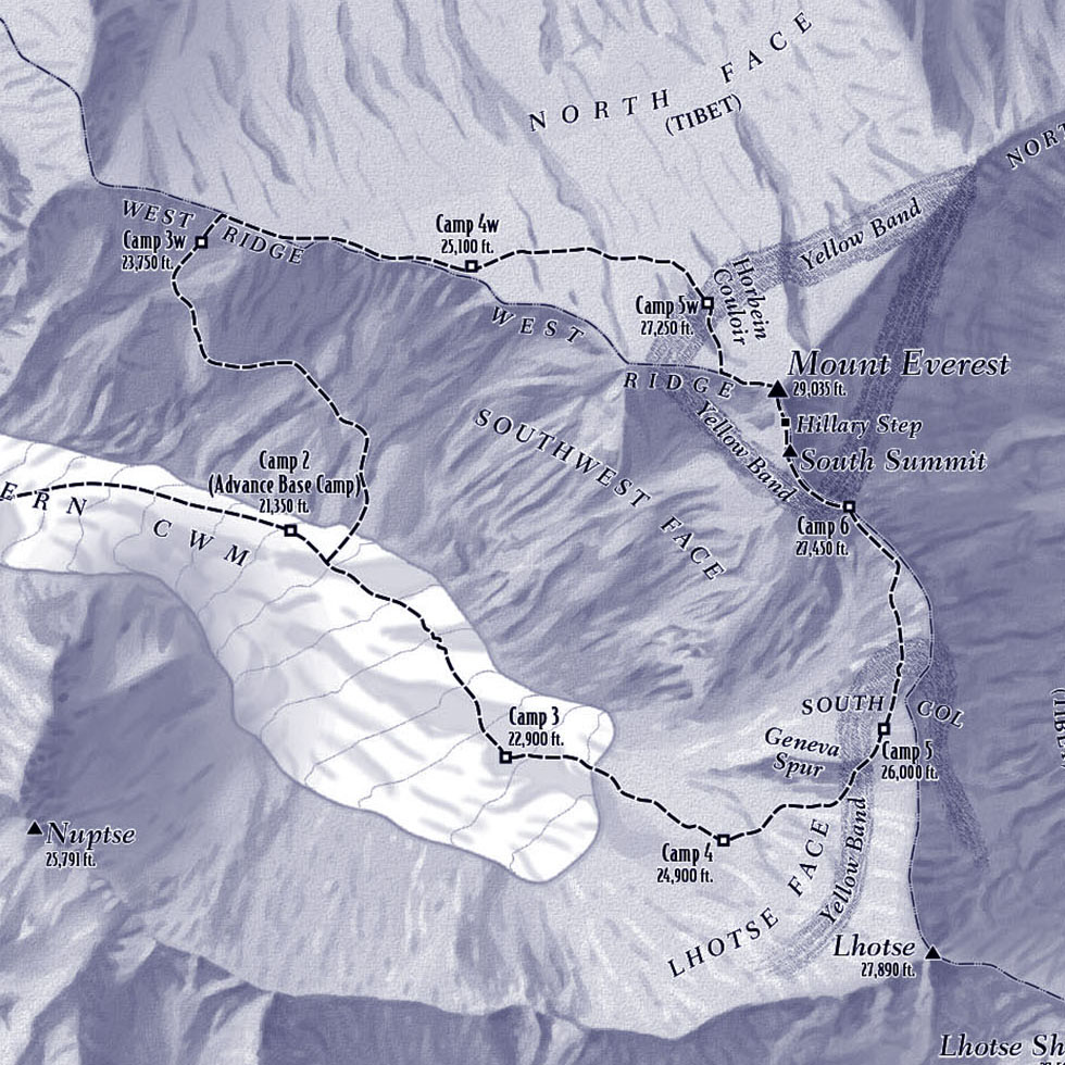 RELIEF MAPS