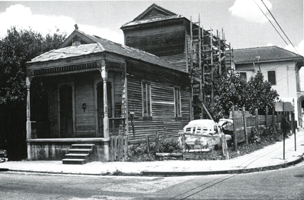 A Camelback House   Photograph from  New Orleans: The Making of an Urban Landscape  (2003, P.F. Lewis)