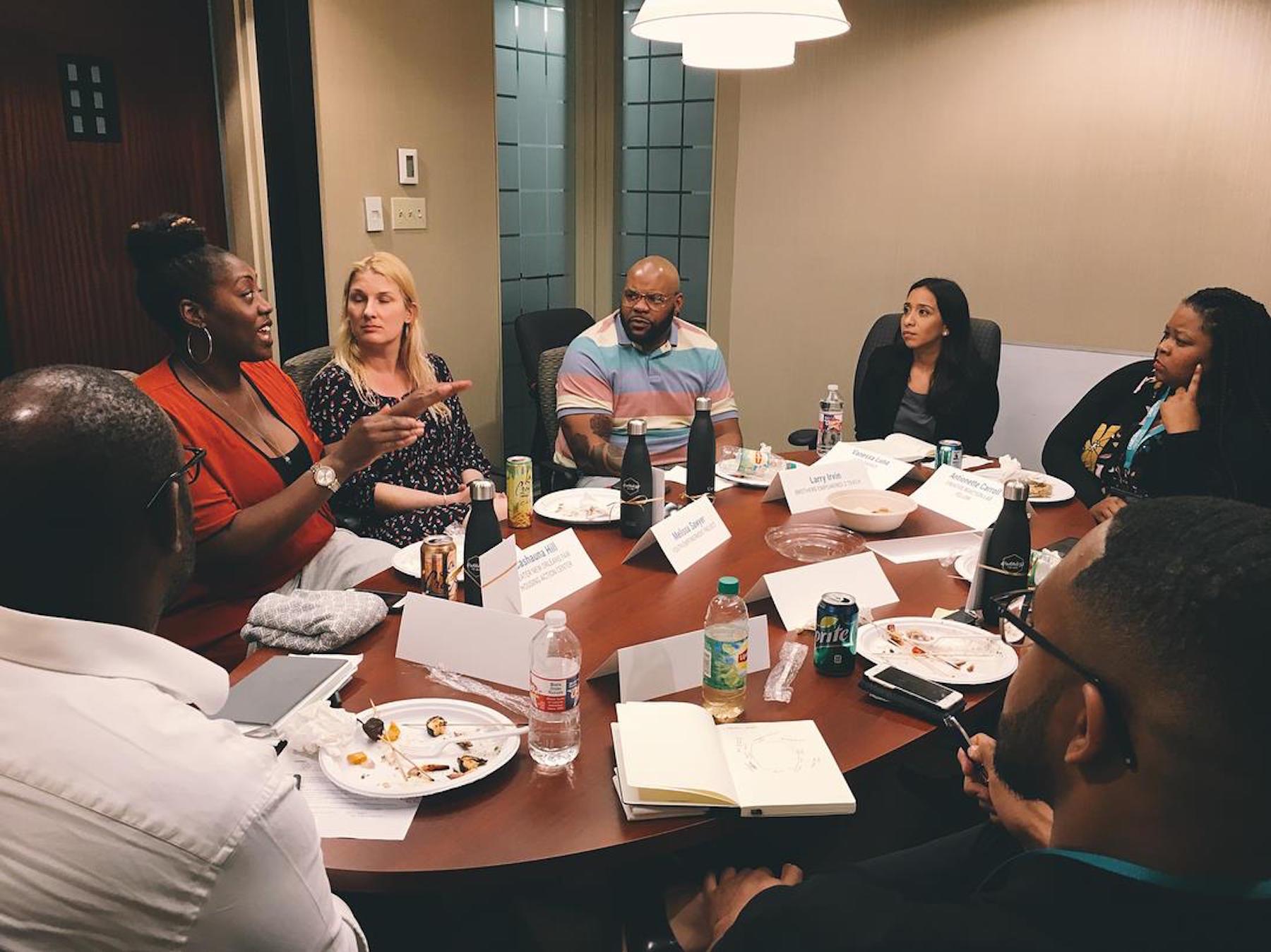 Our nonprofit roundtable discusses community engagement