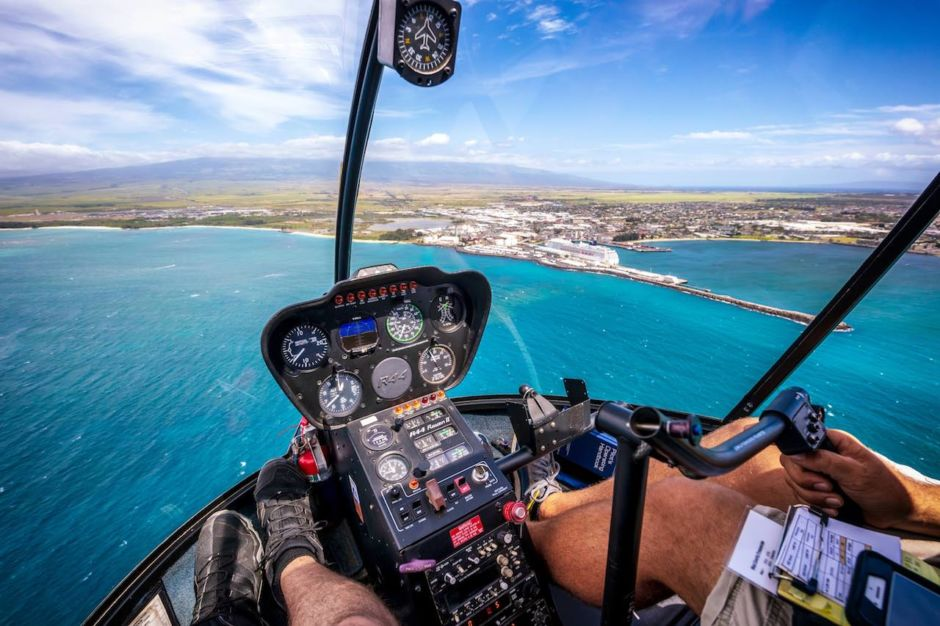 Taking an open-door helicopter ride above Maui is the most epic way to experience the island    Matador Network