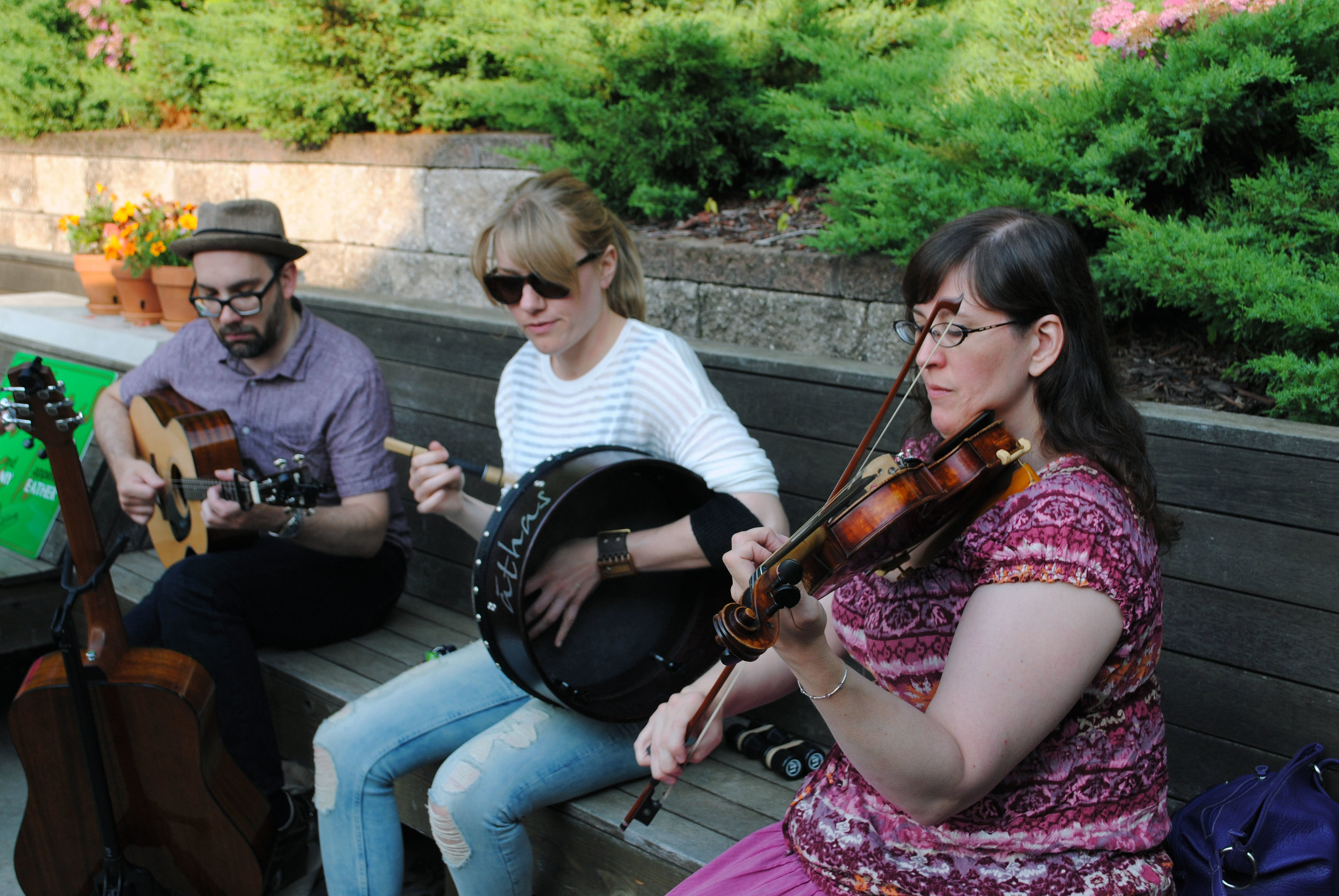athas - Irish Music from Milwaukee.  Click to download hi-res version. Photo by Maddie Bird.