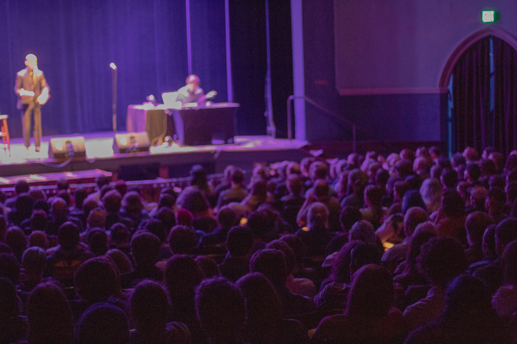 Welcome to Night Vale's  crowd Thursday October 4th, 2018 / Photo by Gabby Estlund
