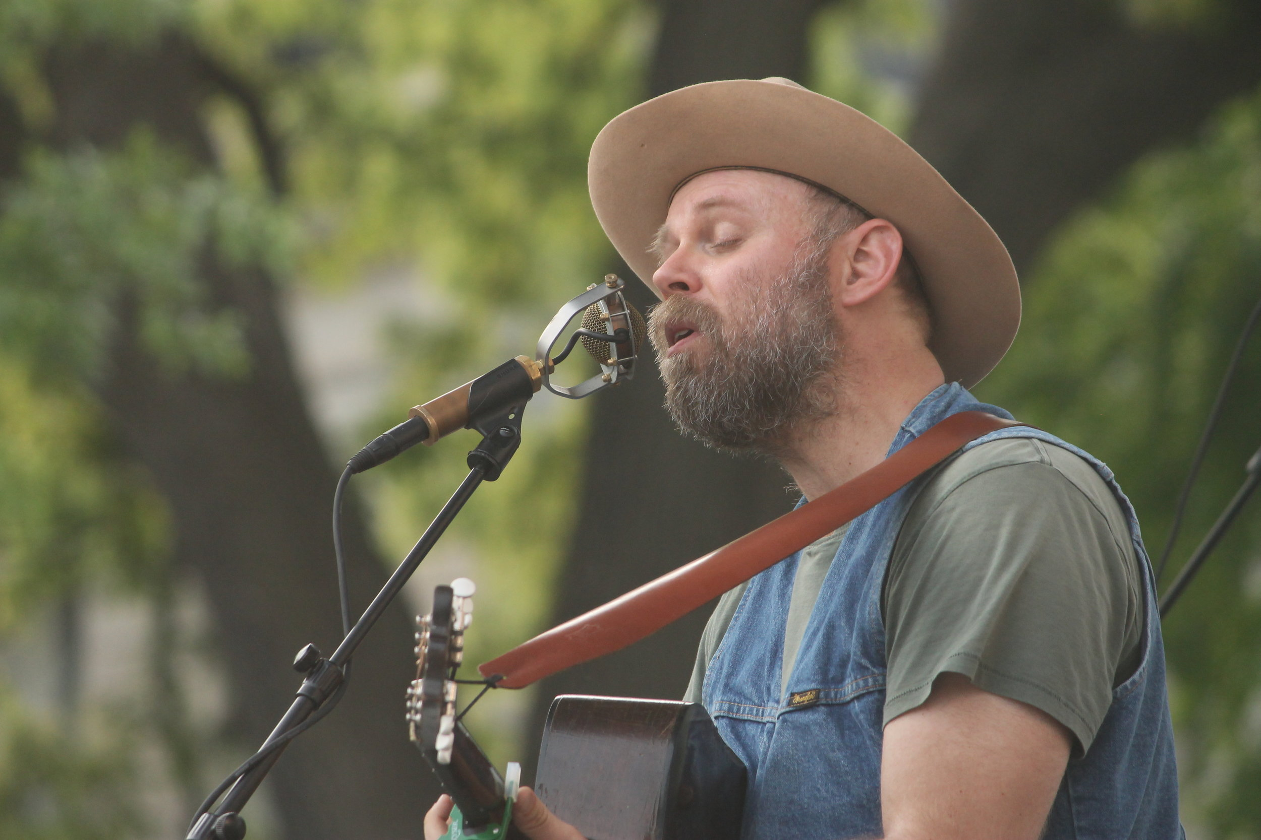 Justin Ringle of Horse Feathers. Photo by Lauren Arzbaecher