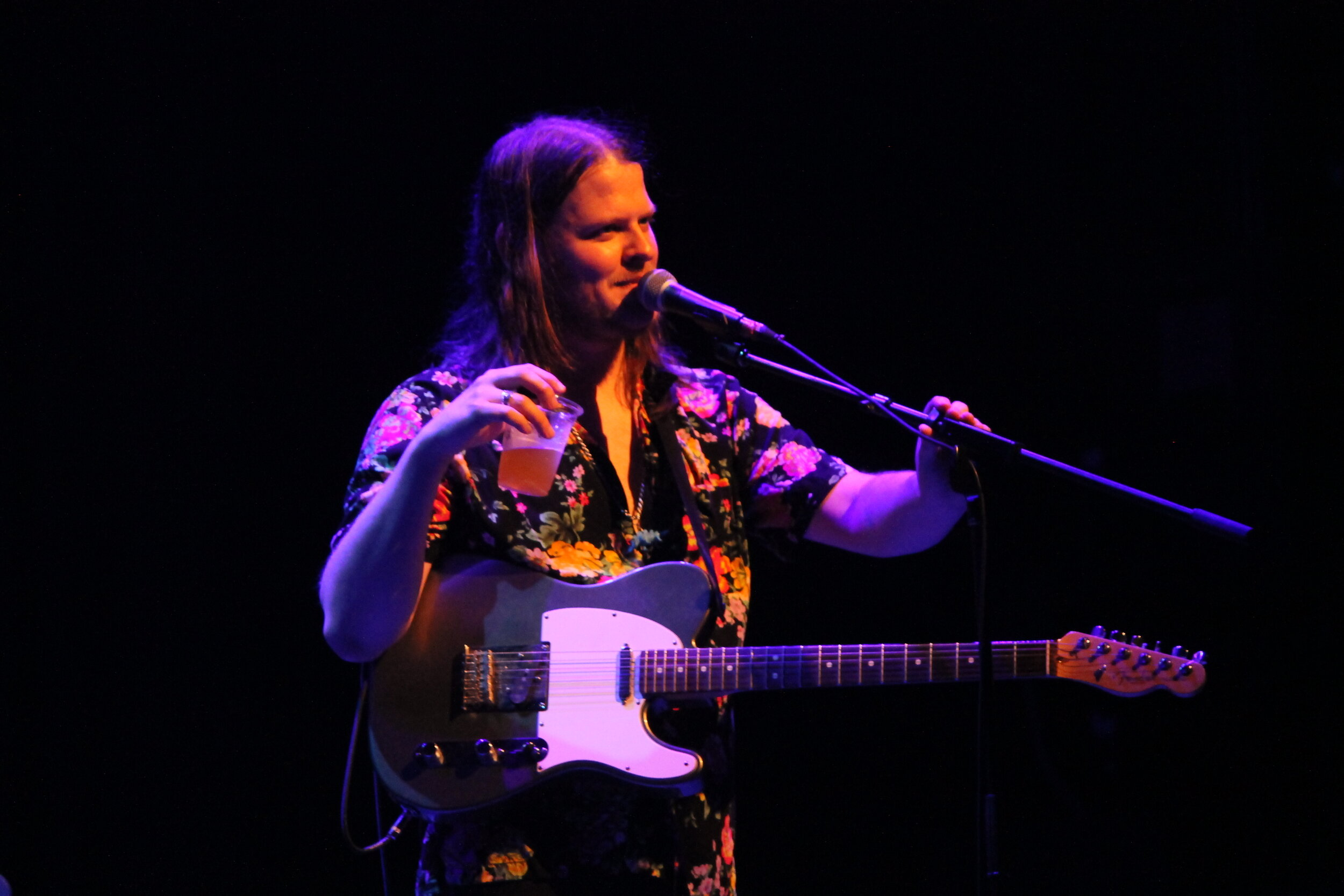 Dana T. at the Englert Theatre. Photo by Lauren Arzbaecher