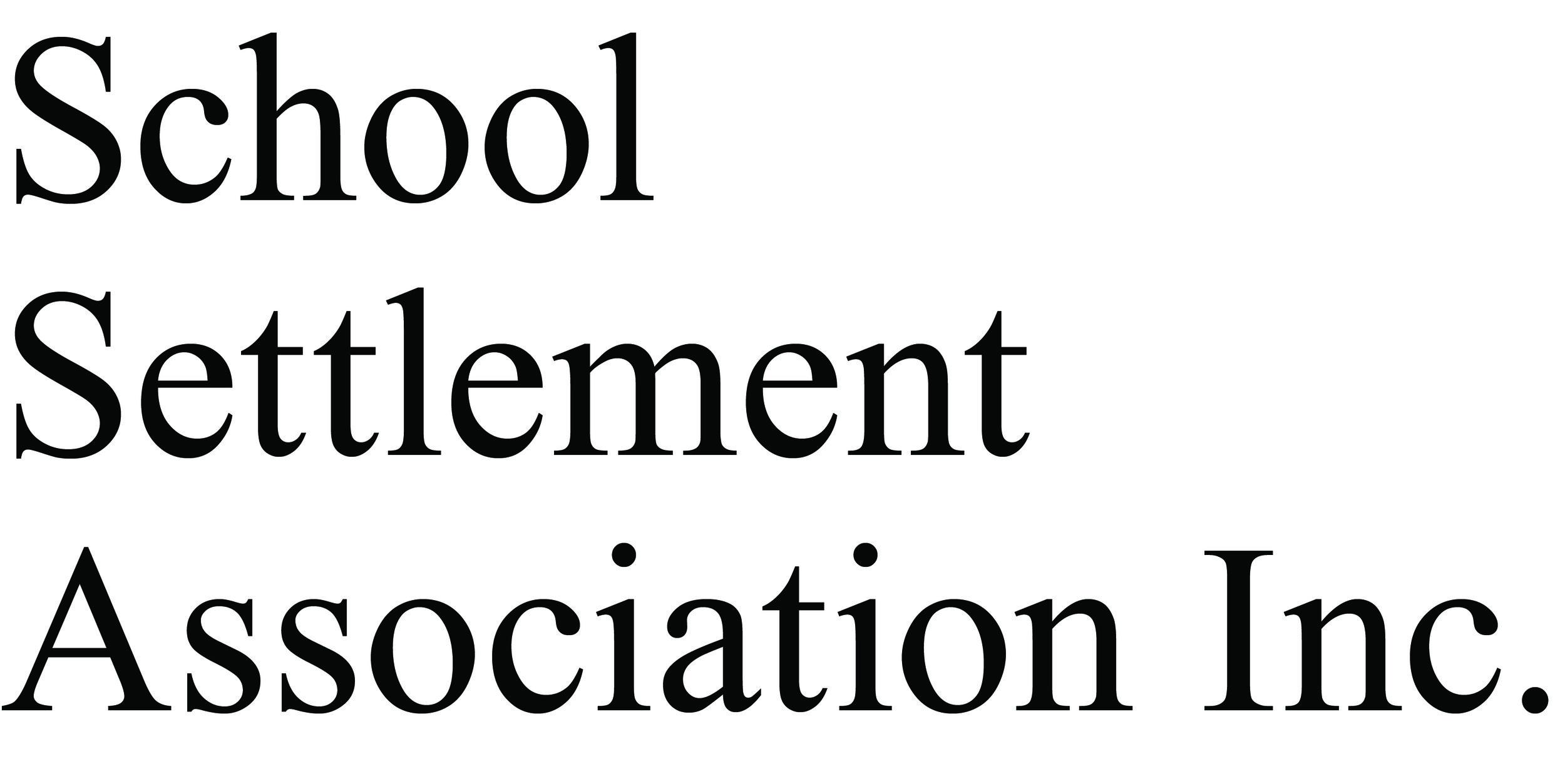 School Settlement Association Inc.