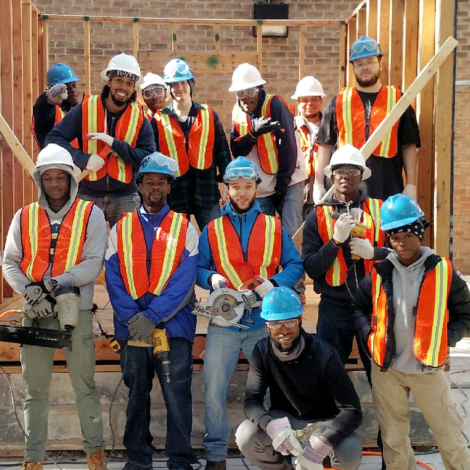 Members of our skills training cohort.