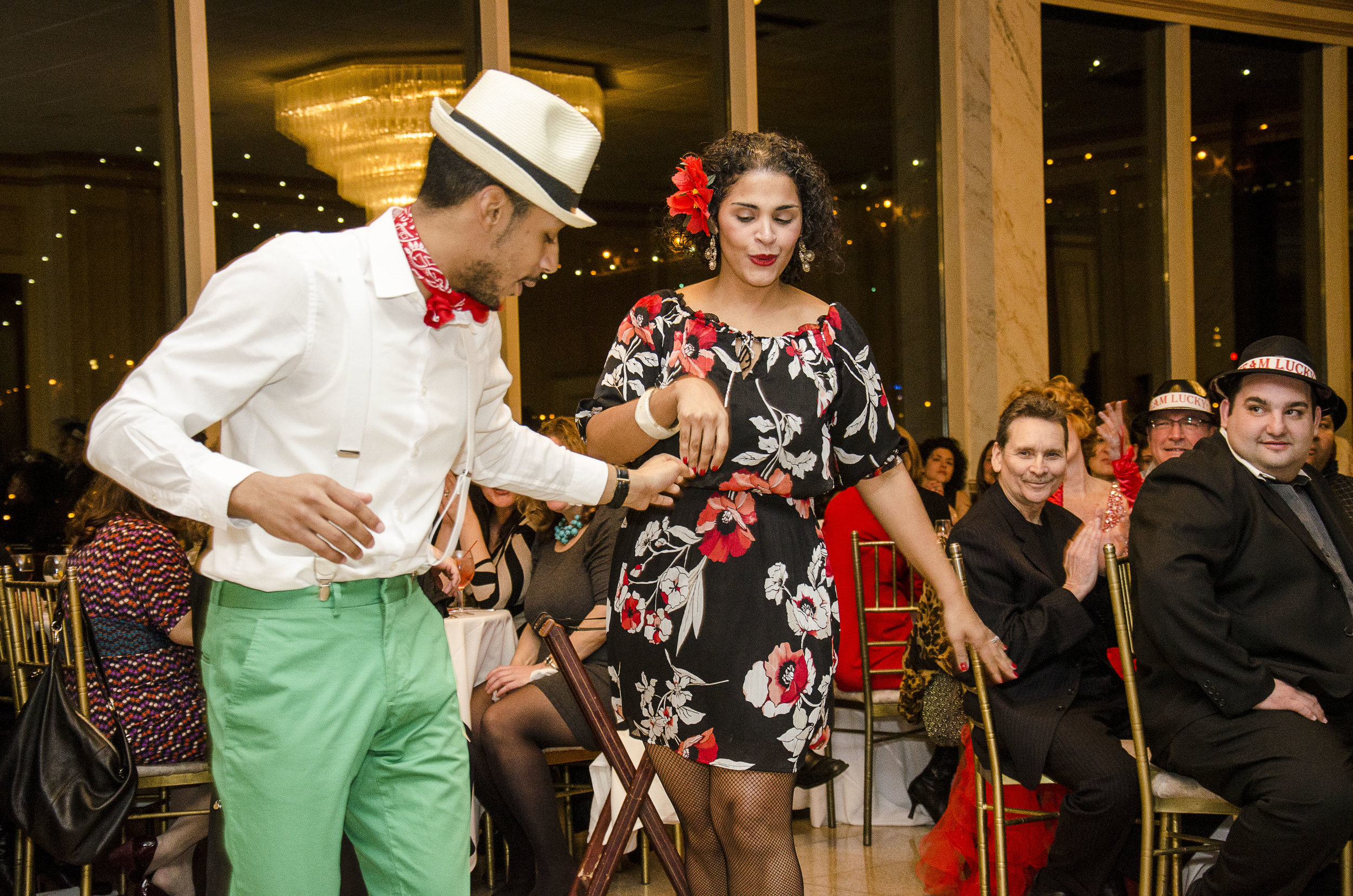 Council Member Antonio Reynoso danced with former Dep. Borough President Diana Reyna at the first Ready Sett Dance
