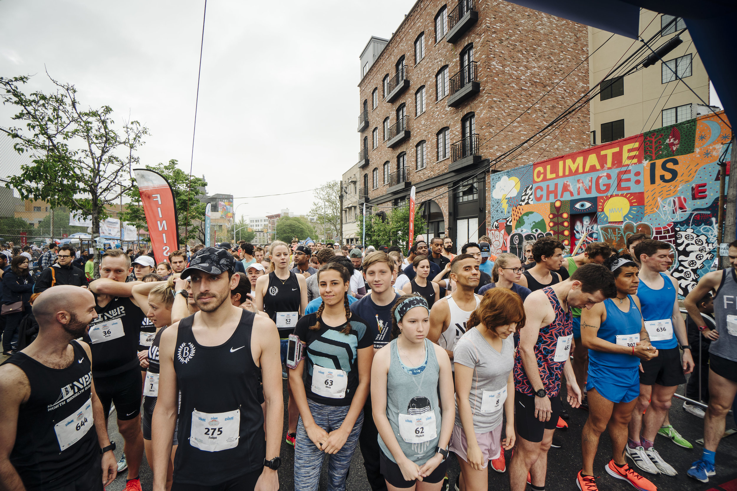 McCarren 5k and 10k run, St Nick's Alliance. Williamsburg, Brooklyn NY MAy 4 2019 - photo by Stefano Giovannini