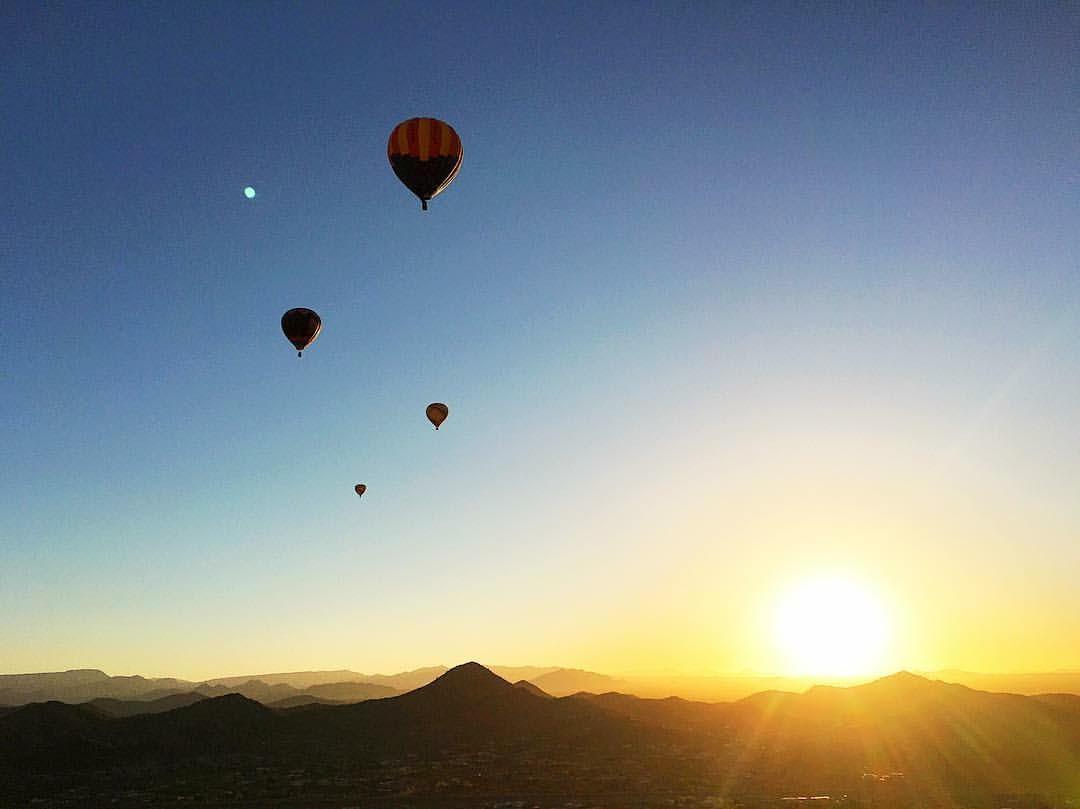 Butler Hot Air Balloon