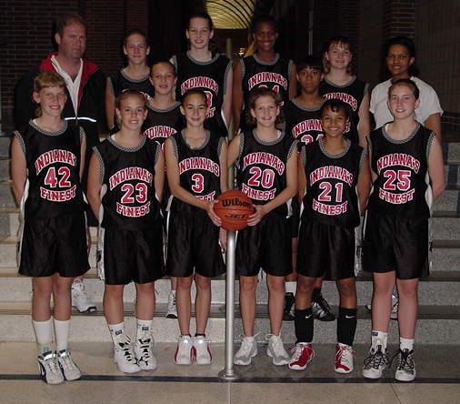 My 12U AAU basketball team