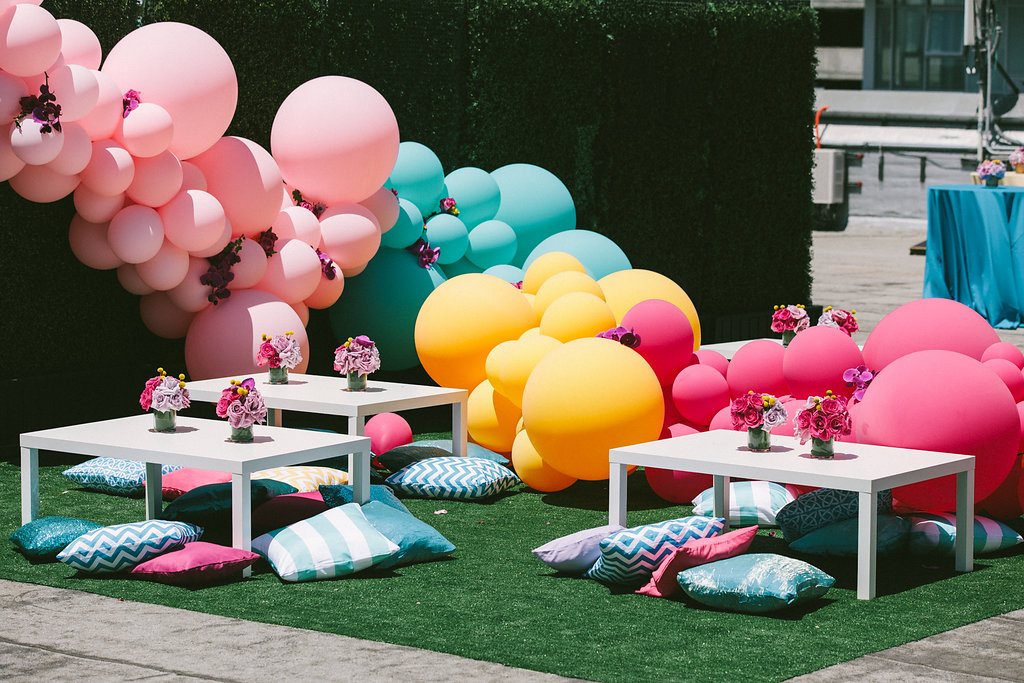 Rooftop vibes curated by Alexis Allen, Shayla Hawkins Events
