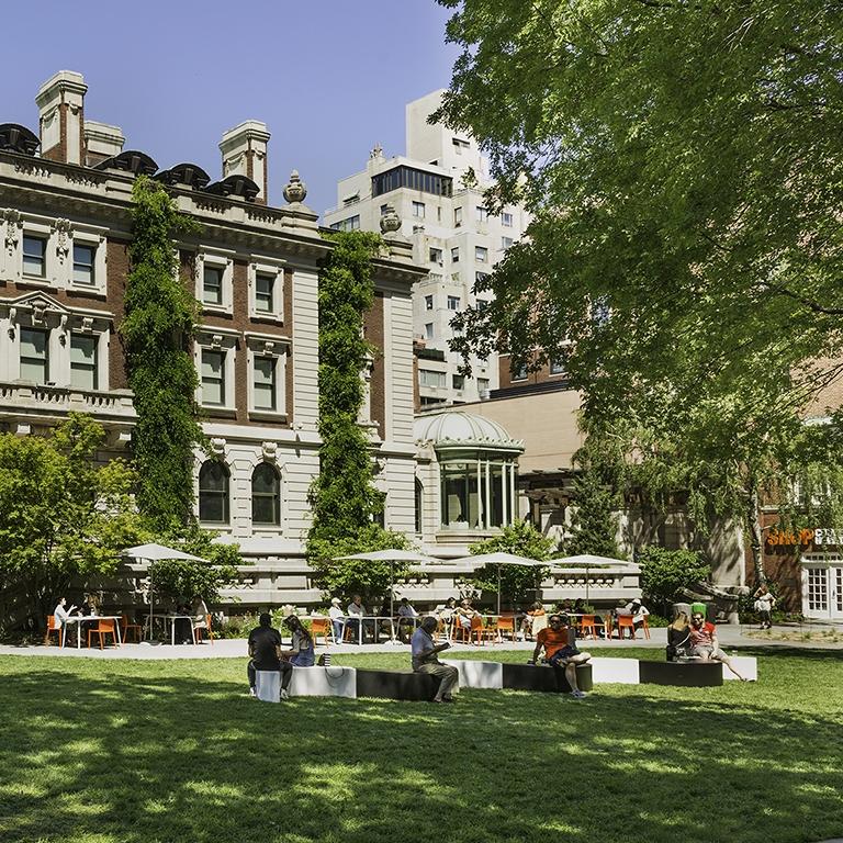 Cooper Hewitt Garden  New York City, NY