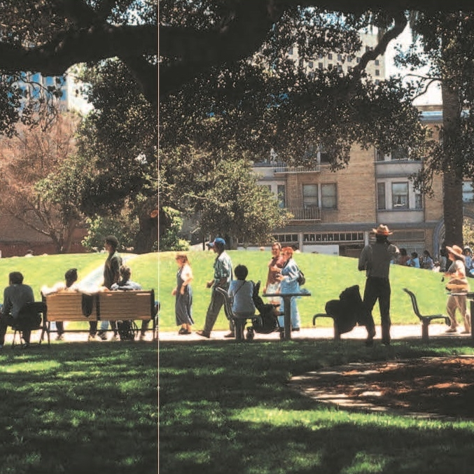 Lafayette Square Park  Oakland, CA