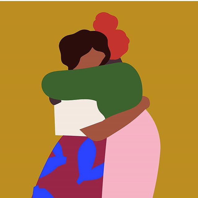 Women are a force of nature. The support and understanding we give each other is unsurmountable. ♥️ #internationalwomensday #support #whoruntheworld Illustration by: @tactilematter
