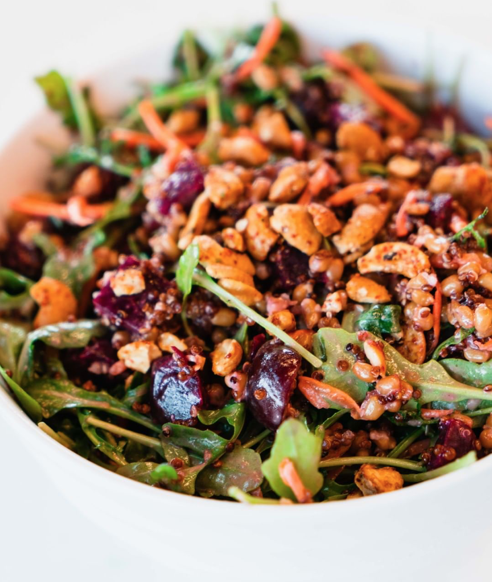 Honeygrow's Make It Grain Salad is what lunch dreams are made of.