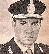 """Adolfo Francisco Scilingo, a Navy captain during Argentina's """"Dirty War"""" between 1976 - 1983 attempting to save civilians from Communisim."""