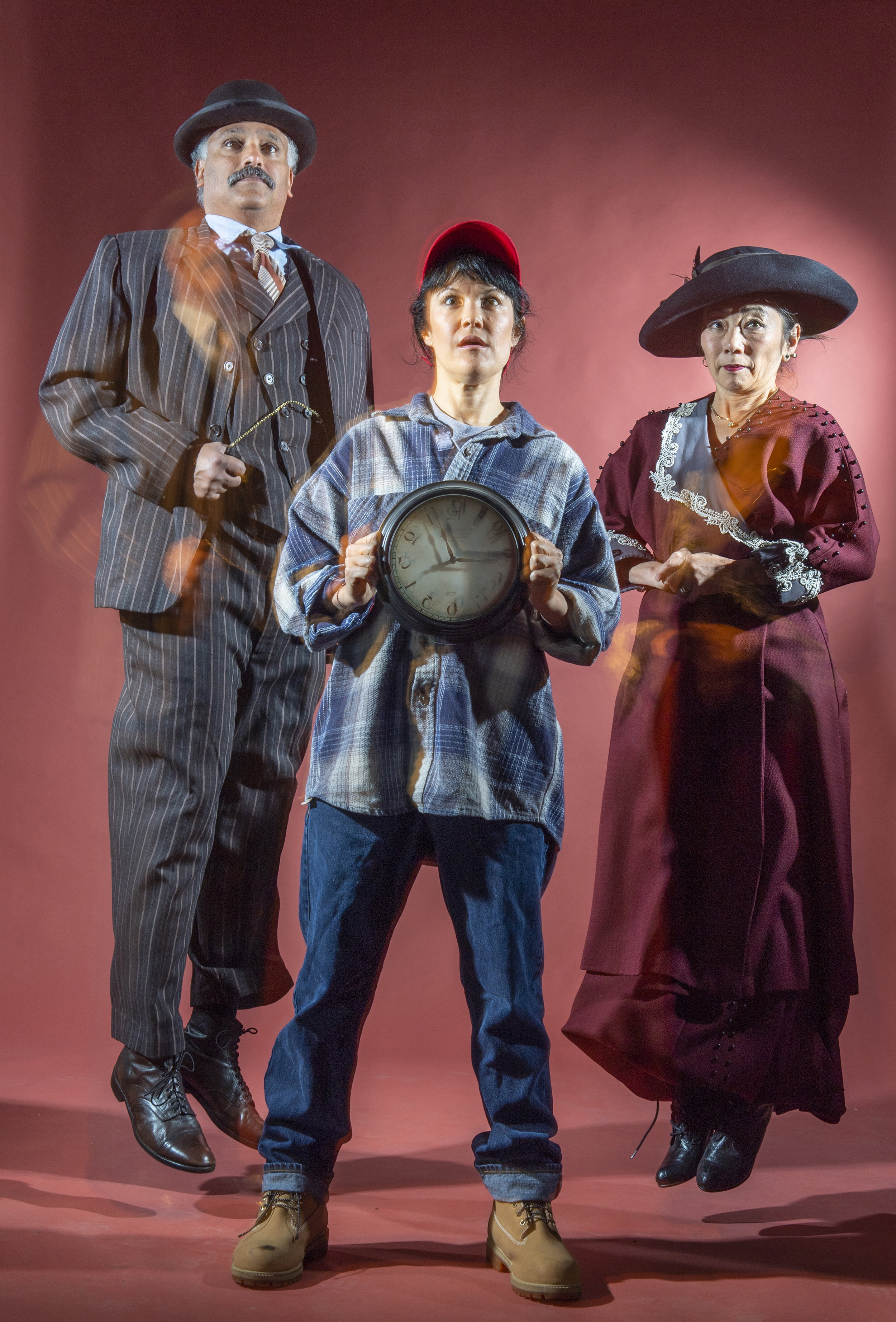 The SF Mime Troupe will preview a song from this summer's show,  Seeing Red: A Time-Traveling Musical !